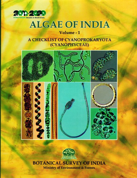 Algae of India, Vol.1: a checklist of Cyanoprokaryota (Cyanophyceae), by Pratibha Gupta