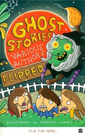 Adventure and ghost stories by various authors, illus. by Shamika Chaves